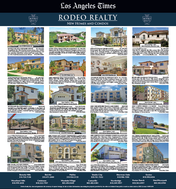 Los Angeles Times Rodeo Realty